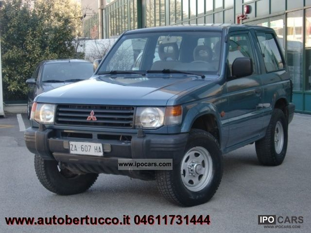 1997 Mitsubishi  Pajero Metal Top 2.5 TDI GL Estate Car Used vehicle photo