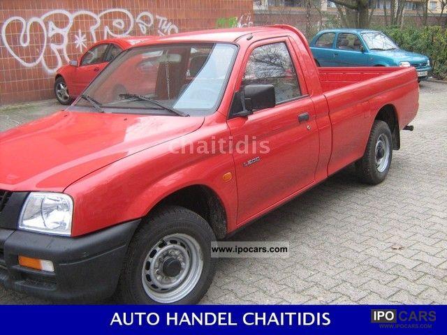 1999 Mitsubishi  L200 Milao ELLINIKA Off-road Vehicle/Pickup Truck Used vehicle photo