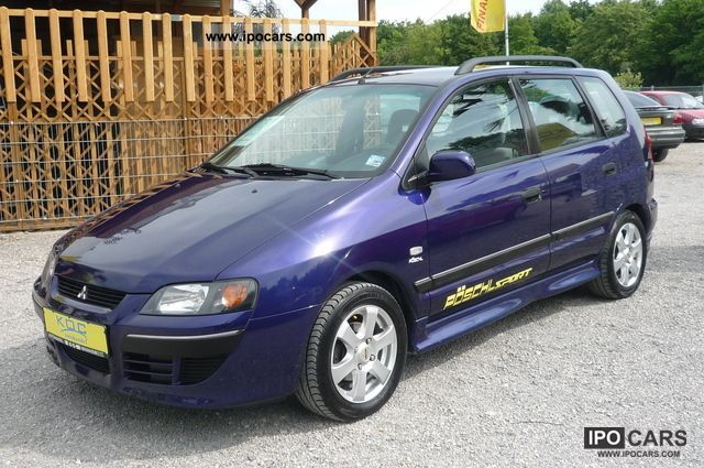 2003 mitsubishi space star 1 8 car photo and specs. Black Bedroom Furniture Sets. Home Design Ideas
