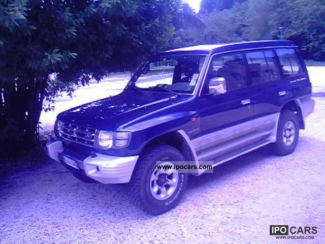 Mitsubishi  Pajero 1998 Liquefied Petroleum Gas Cars (LPG, GPL, propane) photo
