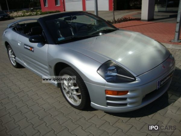 2001 mitsubishi eclipse gt 3 0 v6 convertible sprzedamgo. Black Bedroom Furniture Sets. Home Design Ideas