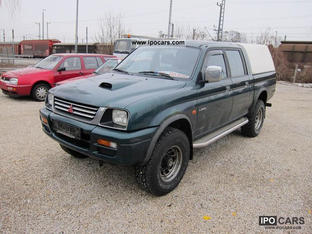 1997 Mitsubishi  L200 Pick Up 4x4 truck registration AHK Other Used vehicle photo