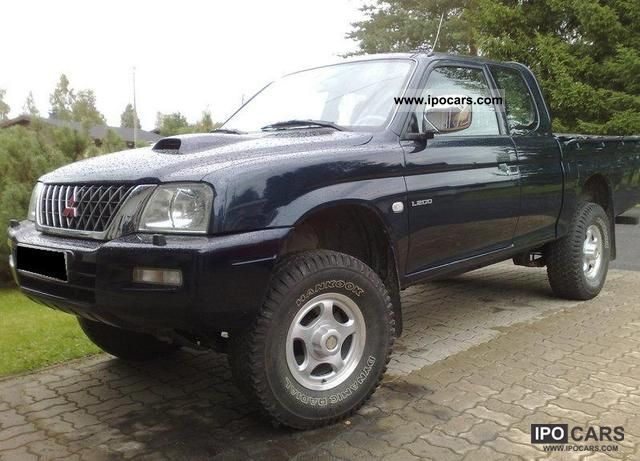 2001 Mitsubishi  L200 Pick Up 4x4 Magnum Club Cab Off-road Vehicle/Pickup Truck Used vehicle photo