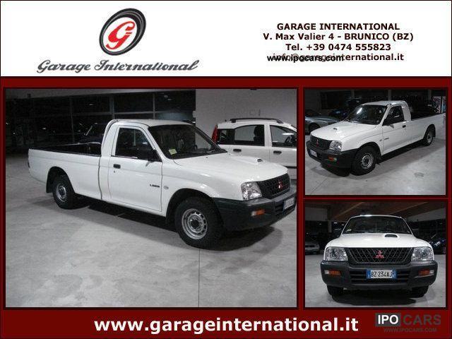 2002 Mitsubishi  2.5 TDI 2WD Single Cab L200 pick-up GL Off-road Vehicle/Pickup Truck Used vehicle photo