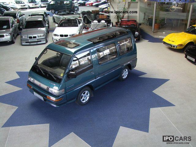 1995 Mitsubishi  L 300 CRYSTAL LITE ROOF CAT luxury trailer hitch, ALU, Estate Car Used vehicle photo