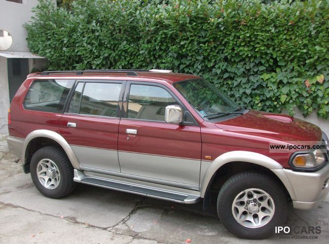 1999 Mitsubishi  P.Sport 2.5 TDI Wagon GLX Off-road Vehicle/Pickup Truck Used vehicle photo