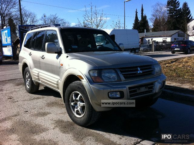 2002 Mitsubishi  Pajero 3.5 V6 GDI Elegance Off-road Vehicle/Pickup Truck Used vehicle photo