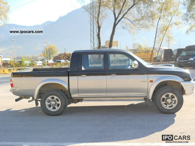 2000 Mitsubishi  L200 Pick Up 4x4 Magnum Off-road Vehicle/Pickup Truck Used vehicle photo