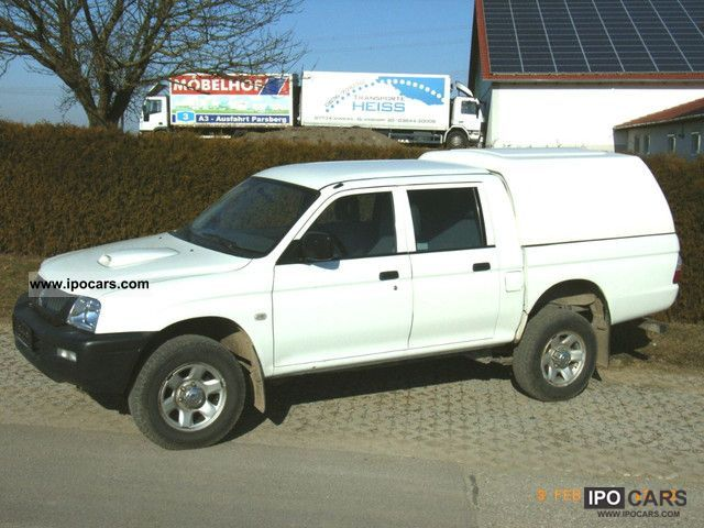 2005 Mitsubishi  L200 Pick Up 4x4, Truck approval Off-road Vehicle/Pickup Truck Used vehicle photo