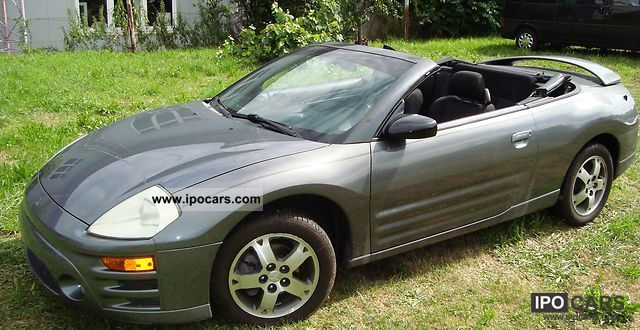 2004 mitsubishi eclipse spyder gs car photo and specs. Black Bedroom Furniture Sets. Home Design Ideas