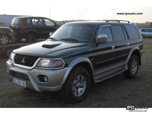 2002 mitsubishi pajero 4x4 pajero sport car photo and specs. Black Bedroom Furniture Sets. Home Design Ideas