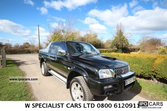 2003 Mitsubishi  L200 Pick Up 4x4 MITSUBISHI L200 2.5 TD WARRIOR Other Used vehicle photo