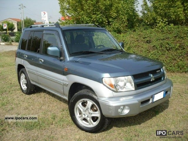 2004 mitsubishi pajero pinin 2 0 gdi 16v 5 porte car photo and specs. Black Bedroom Furniture Sets. Home Design Ideas