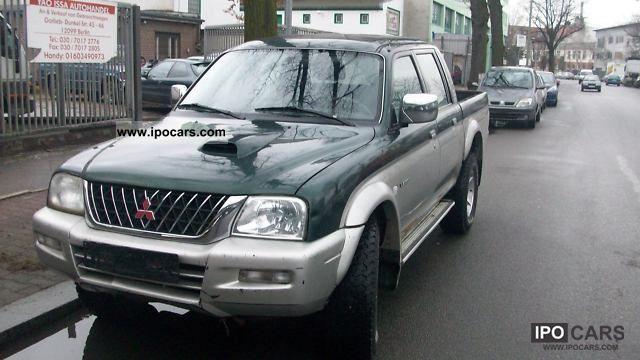 2005 mitsubishi l200 pick up 4x4 magnum car photo and specs. Black Bedroom Furniture Sets. Home Design Ideas