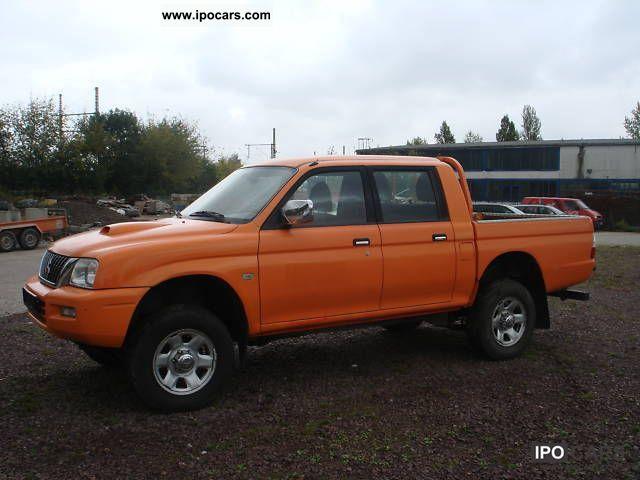 2005 Mitsubishi  L200 Pick Up 4x4 DOUBLE CAB * Climate * Motor 30TKM Off-road Vehicle/Pickup Truck Used vehicle photo