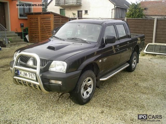 2006 Mitsubishi  L200 Pick Up 4x4 Off-road Vehicle/Pickup Truck Used vehicle photo