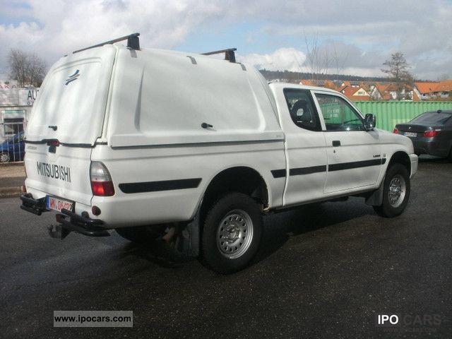 2005 mitsubishi l200 pick up 4x4 glx cab club climate car photo and specs. Black Bedroom Furniture Sets. Home Design Ideas