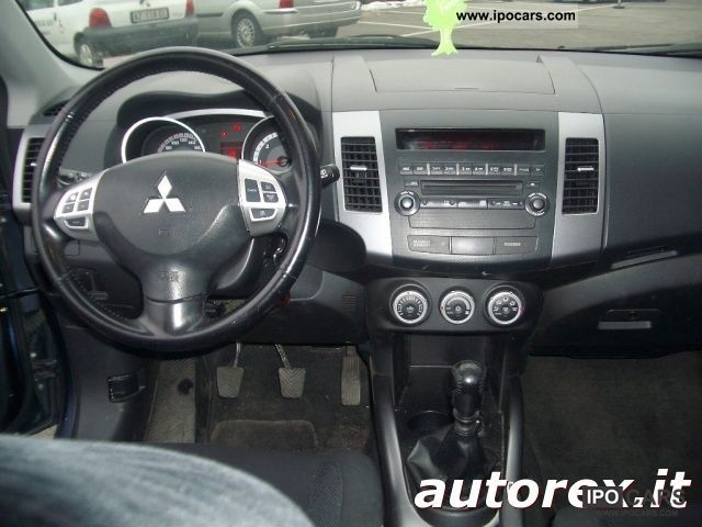 2007 Mitsubishi Outlander 2.0 DI-D Intense DPF Off-road Vehicle/Pickup ...