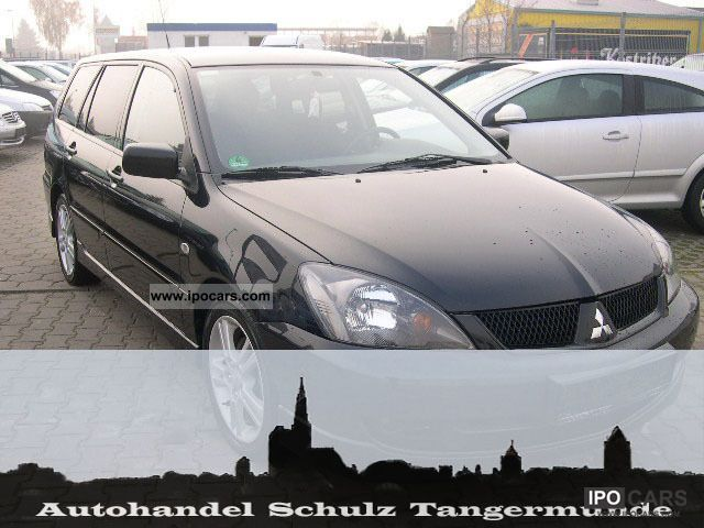 2008 Mitsubishi  Lancer + + + + NSW + ALU + + + BLACK Estate Car Used vehicle photo