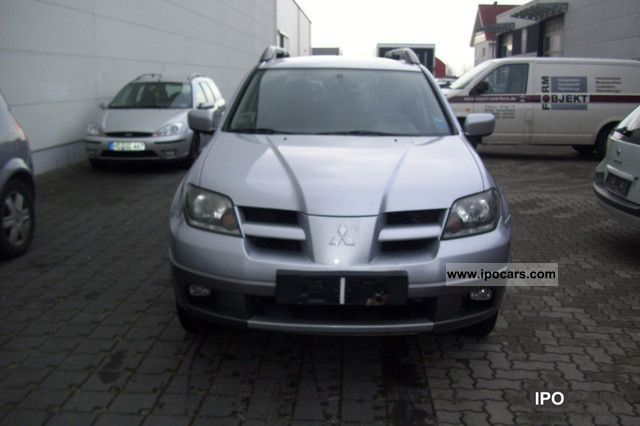 2007 Mitsubishi Outlander 2.4 4WD automatic with gas - Car Photo and ...