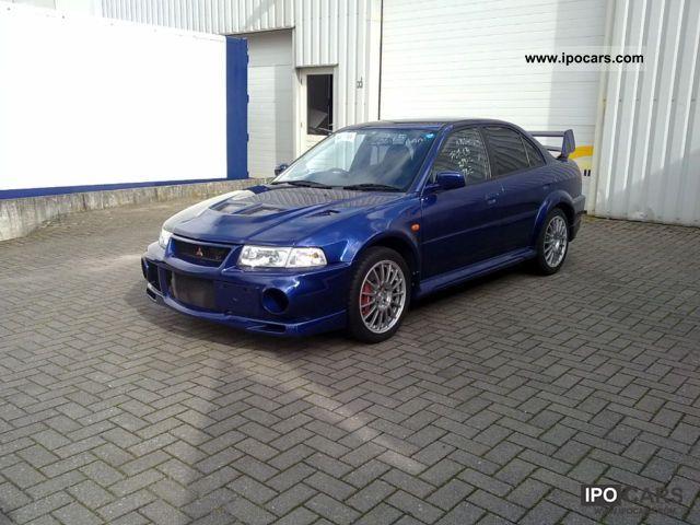 2000 mitsubishi lancer evo vi evolution 6 turbo 20 16v estate car used vehicle photo - Mitsubishi Lancer Evo 2000