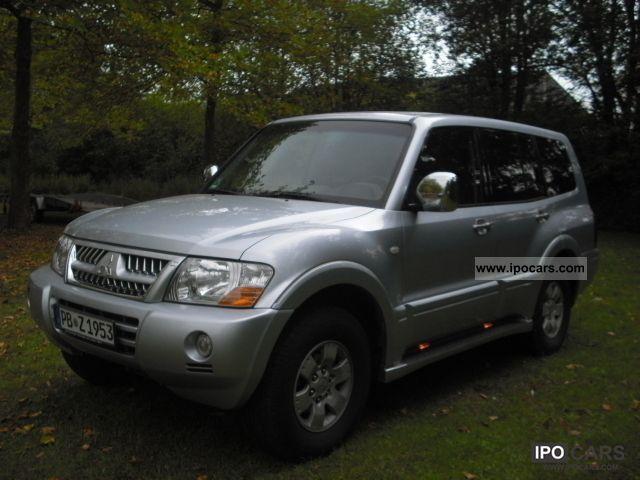 2004 Mitsubishi  Pajero 3.2 DI-D Edition 20 Off-road Vehicle/Pickup Truck Used vehicle photo