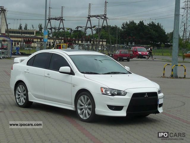 2008 mitsubishi lancer 2 0 gts car photo and specs. Black Bedroom Furniture Sets. Home Design Ideas