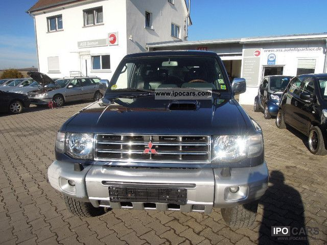 1999 Mitsubishi  Pajero 2800 TD GLS air / navi / leather / aluminum / APC Off-road Vehicle/Pickup Truck Used vehicle photo