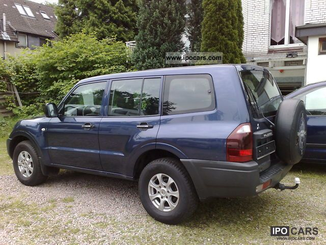 2006 Mitsubishi Pajero 3.2 DI-D 1.Hand, Off-road Vehicle/Pickup Truck ...