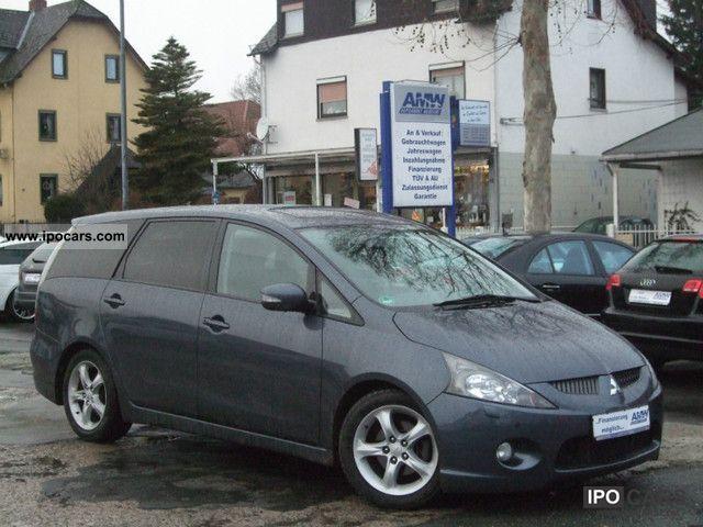 2005 Mitsubishi  Grandis 2.0 * LEATHER * XENON * SITZH * PDC * AHK * PANORAMA Van / Minibus Used vehicle photo