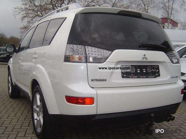 2007 Mitsubishi Outlander 2.0 DI-D 4WD Off-road Vehicle/Pickup Truck ...