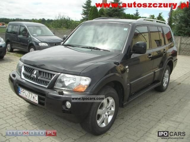 2006 Mitsubishi  Pajero Off-road Vehicle/Pickup Truck Used vehicle photo