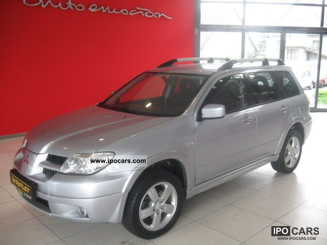 Mitsubishi  Outlander DOHC, 16V, 6 m-cy GWARANCJI 2007 Liquefied Petroleum Gas Cars (LPG, GPL, propane) photo