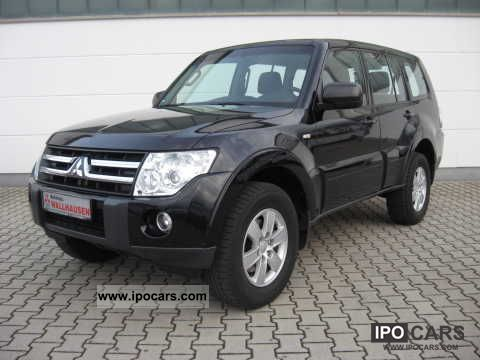2007 mitsubishi pajero di d invite mt car photo and specs. Black Bedroom Furniture Sets. Home Design Ideas