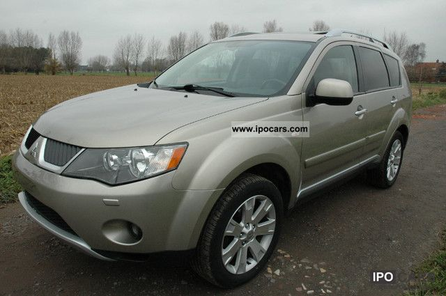2008 mitsubishi outlander 2 4 4wd cvt instyle lpi 7sitzen car photo and specs. Black Bedroom Furniture Sets. Home Design Ideas
