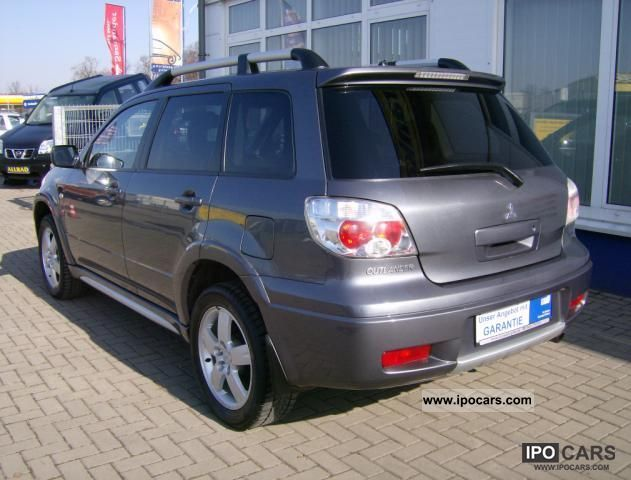 2007 Mitsubishi Outlander 2.4 4WD Automatic Off-road Vehicle/Pickup ...