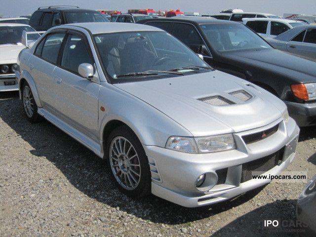 1999 Mitsubishi  LHD Evolution 6 Limousine Used vehicle photo