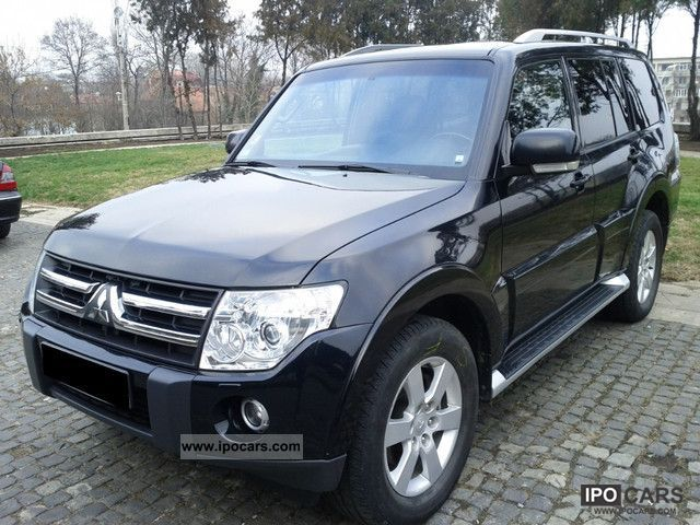 2007 mitsubishi pajero 3 2 di d instyle car photo and specs. Black Bedroom Furniture Sets. Home Design Ideas
