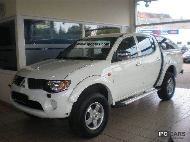 2008 Mitsubishi  2.5DI L200-D Double Cab Intense Air Hardtop Off-road Vehicle/Pickup Truck Used vehicle photo