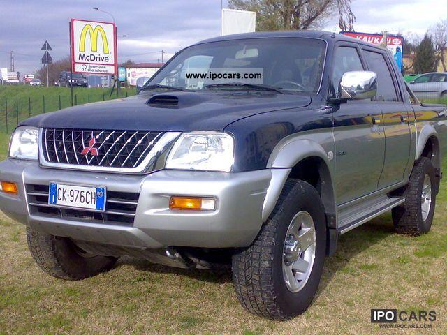 2003 Mitsubishi  L200 porte gls autocarro magnum 4 5 posti Off-road Vehicle/Pickup Truck Used vehicle photo