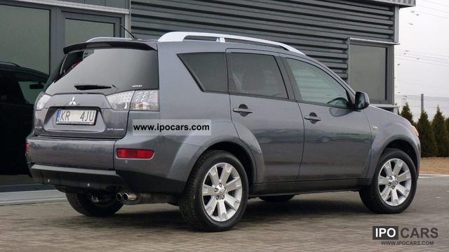 2008 mitsubishi outlander 2 2 d id skory 37 tys km car photo and specs. Black Bedroom Furniture Sets. Home Design Ideas