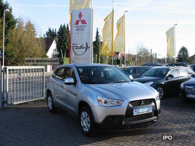 2012 Mitsubishi  1.6 ASX Inform Air Conditioning German model Limousine Used vehicle photo