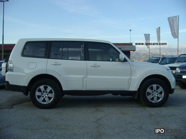 2007 mitsubishi pajero 3 2 di d 16v wagon 5p invite 302 car photo and specs. Black Bedroom Furniture Sets. Home Design Ideas