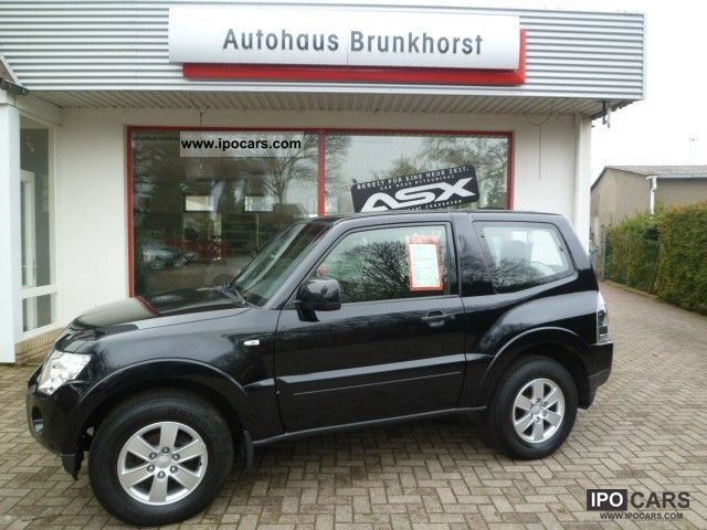 2007 mitsubishi pajero 3 2 di d invite 3door car photo and specs. Black Bedroom Furniture Sets. Home Design Ideas
