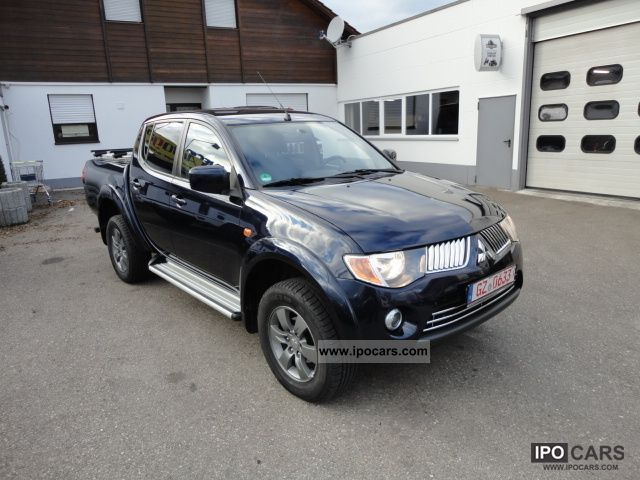 2008 mitsubishi l200 pick up 4x4 autm intense double cab top car photo and specs. Black Bedroom Furniture Sets. Home Design Ideas