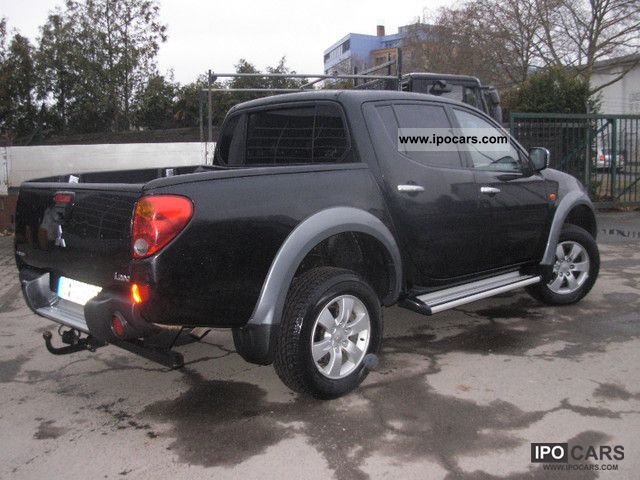 2009 mitsubishi l200 pick up 4x4 autm ahk intense double cab car photo and specs. Black Bedroom Furniture Sets. Home Design Ideas