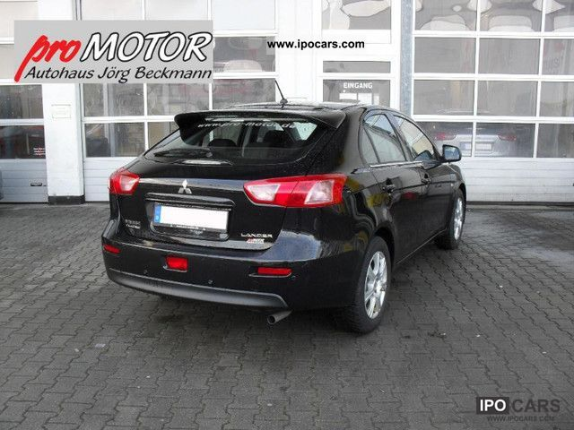 2012 Mitsubishi  Lancer 1.6 ClearTec special edition X-TRA Sportback Limousine Demonstration Vehicle photo