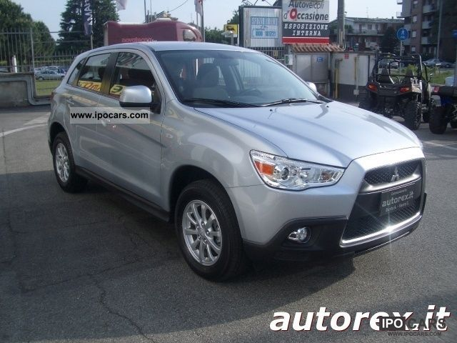 2011 mitsubishi asx 1 8 di d invite 2wd cleartec car photo and specs. Black Bedroom Furniture Sets. Home Design Ideas