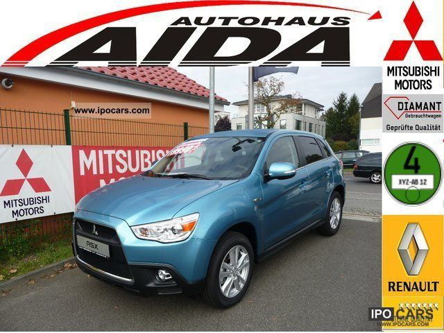 2011 Mitsubishi  * Invite CLEARTEC ASX 2WD EDITION * 1.6 MIVEC Off-road Vehicle/Pickup Truck New vehicle photo