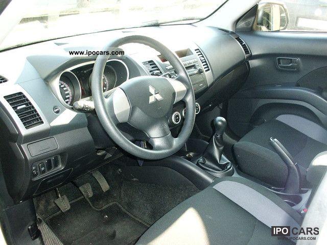 2010 Mitsubishi Outlander 2 4 2WD WHITE Warranty climate